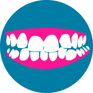 WHY?<br>If the teeth are crowded or spaced apart, possibly causing tooth decay or gum disease.